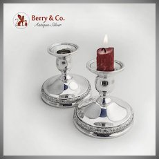 Prelude Candlesticks Sterling Silver International 1939