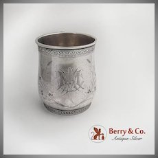 Aesthetic Cup Sterling Silver Whiting Silversmiths 1880
