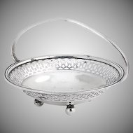 Small Basket Sterling Silver Watrous 1920