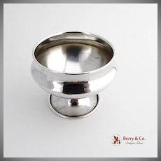 Open Salt Dish Sterling Silver 1900
