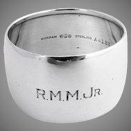 Napkin Ring Sterling Silver Gorham Silversmiths 1920