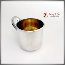 Baby Cup Sterling Silver Reed and Barton Date marked 1952