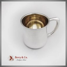 Baby Cup Sterling Silver Towle Silversmiths