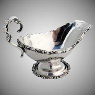 Ornate Massive Gravy Ladle Sterling Silver Sdela Sernas Mexico
