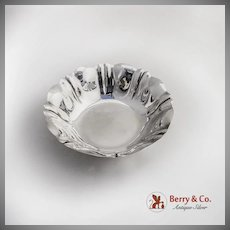 Round Pinched Bowl Sterling Silver Gorham 1940
