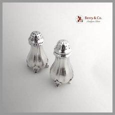 German Salt Pepper Shakers 835 Silver 1920