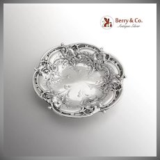 Reed And Barton Ornate Dish Bowl Sterling Silver 1940