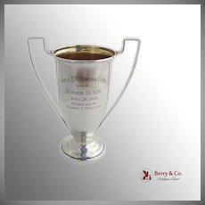 Vintage Trophy Cup Reed And Barton Sterling Silver