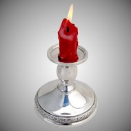 Prelude Console Candle Holder Candlestick International Sterling Silver 1940