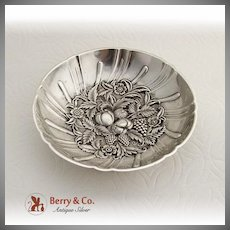 Repousse Candy Dish Ball Feet S Kirk And Son Sterling Silver 1930
