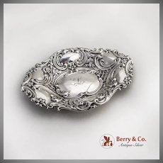 Vintage Ornate Bowl Dominick And Haff Sterling Silver