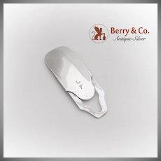 Vintage Sliding Collapsible Shoe Horn Gorham Sterling Silver 1915