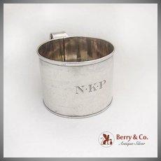 Vintage Large Cup Mug Monogrammed Gorham Silversmiths Sterling Silver