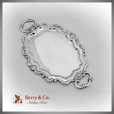 Ornate Cherub Dresser Tray Spanish 830 Silver
