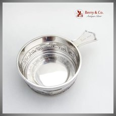 Noahs Ark Porringer Tab Handle Inscribed Gorham Sterling Silver