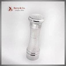 Tiffany And Co Salt Shaker Pepper Grinder Combination Sterling Silver