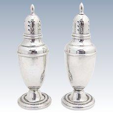 Courtship Salt Pepper Shakers International Sterling Silver 1936