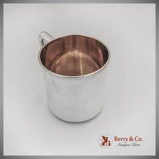 Vintage Baby Cup Gilt Interior No Mono Watrous Mfg Co Sterling Silver