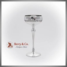 Hastings College Of The Law Registrar Appreciation Cup Shreve Co Sterling Silver