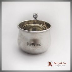 Spring Glory Baby Childs Cup International Sterling Silver 1942