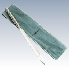 Paloma Picasso Letter Opener Tiffany Co Sterling Silver
