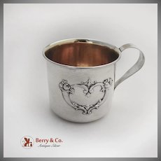 Francis I Childs Baby Cup Gilt Interior Reed And Barton Sterling Silver 1960