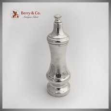 Tiffany Co Sterling Silver Pepper Grinder