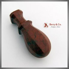 Figural Reddish Brown Agate Wax Seal