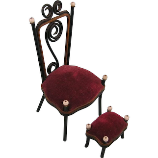 Ca. 1900: An Elaborate Bentwood Chair for Mignonettes