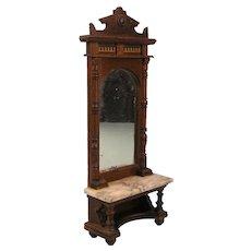 Impressive Pier Mirror Neo-Renaissance Style - ca. 1890