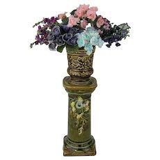 19th Century Flower Column