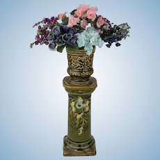 19th Century Flower Column
