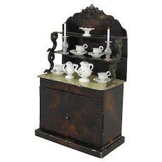 Rock & Graner - Rare Dresser with snake supported shelves