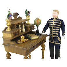 Antique Miniature Globe in Perfect Condtion
