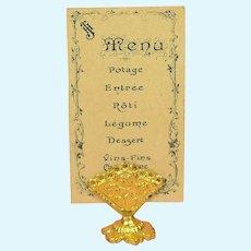 Real Rarity - Menu Card Holder by Erhard & Söhne