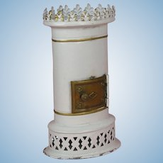 Rock & Graner: antique neo-classical doll's house stove ca. 1860/80