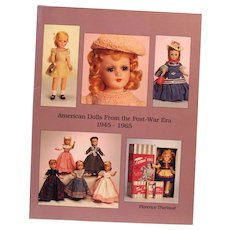 """Theriault's Catalog """"American Dolls From the Post-War Era 1945-1965""""  Auction May 9, 1993"""