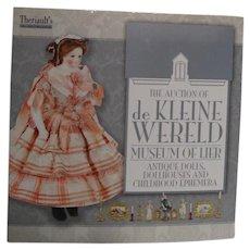 Theriaults Catalog--De Kleine Wereld--Museum of Lier--dolls, dollhouses & childhood ephemera