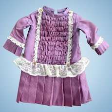 Beautiful Lilac Dress for a French or German Girl