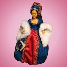 Peggy Nisbet doll---Queen Anne Boleyn with original box---King Henry VIII's 2nd wife
