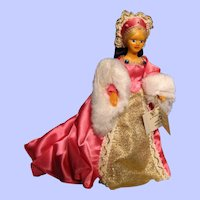 Peggy Nisbet doll---Queen Jane Seymour with original box---King Henry VIII's 3rd wife--FREE SHIPPING!