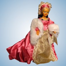 Peggy Nisbet doll---Queen Jane Seymour with original box---King Henry VIII's 3rd wife