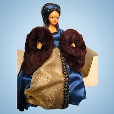 Peggy Nisbet doll---Queen Catherine Parr with original box---King Henry VIII's 6th wife