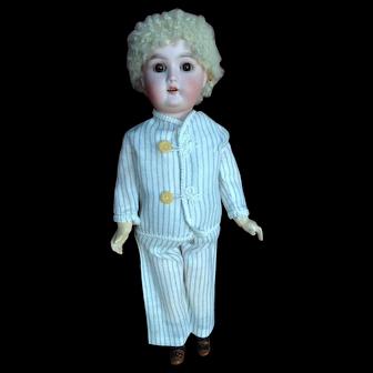 """11"""" All Original Steiner Walking doll. Skin Wig"""