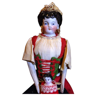 Conta & Boehme China Ethnic Costume with Baby