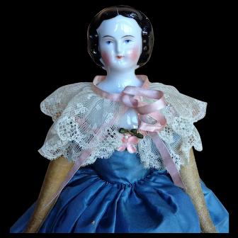 """Mary Lincoln""  Autoperipatetikos Mechanical Walking Doll,  10"""