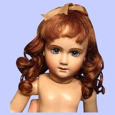 "Gorgeous Human Hair Wig 12.25"" circumference---Free shipping!"