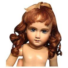 "Gorgeous Human Hair Wig 12.25"" circumference"