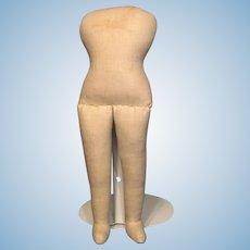 "10"" Vintage cloth body---firmly stuffed--no damage!"