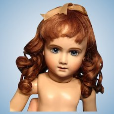 """Bravot Fanny Human Hair Wig in lovely auburn with 11"""" Circumference---Free shipping!"""